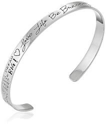 Love Life Be Brave Cuff Bracelet