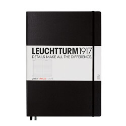 Leuchtturm Master Ruled Notebook