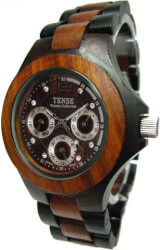 Solid Wood Men Wrist Watch