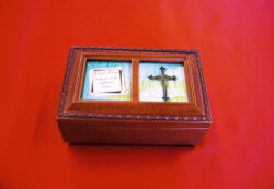 Nurses Prayer Petite Music Box