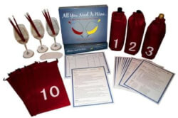 Blind Wine Tasting Party Game
