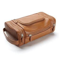 Leatherology Multi Pocket Toiletry..