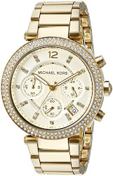 Michael Kors Womens Parker Gold..