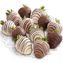 12 Chocolate Covered Strawberries