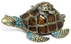 Sea Turtle Jewelry Trinket Box