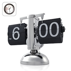Retro Flip Down Clock (Gear..