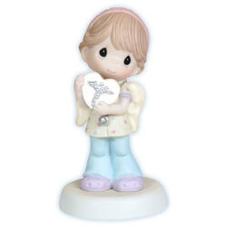 Nurse With Heart Figurine
