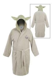 Yoda Unisex Hooded Cotton Robe