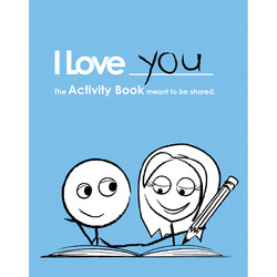 I Love You: Activity Book For..