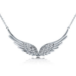 Angel Wings Pendant Necklace