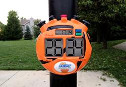 Scoreboard For Driveway Basketball..