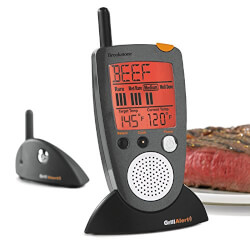 Brookstone Grill Remote Meat..