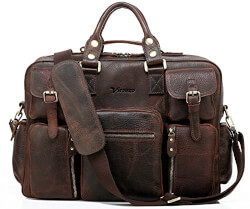 Vicenzo Leather Bag For Men