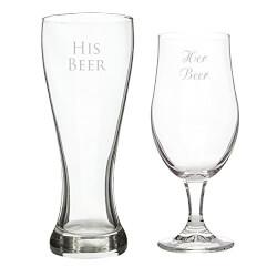 His Beer/Her Beer Pilsner Set