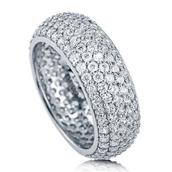 5-Row Full Eternity Ring