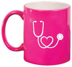 Heart Stethoscope Mug