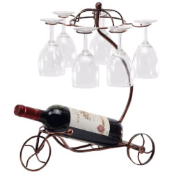 Vintage Tricycle Wine Bottle &..