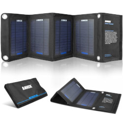 Dual-Port Solar Charger With..