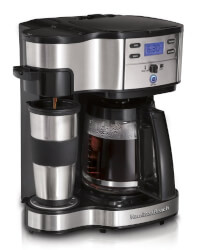 2-Way Single Serve Brewer & Coffee..