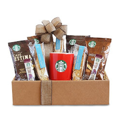 Starbucks Coffee Mornings Gift Box