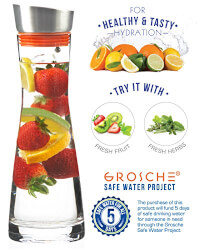 Water Pitcher And Drink Infuser