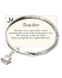 Teachers Inspirational Bracelet In..