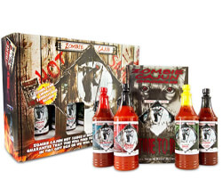 Hot Sauce Gourmet Gifts Basket Set