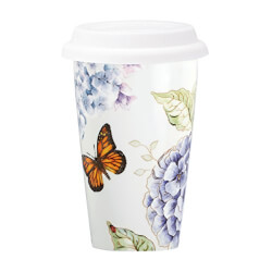 Lenox Butterfly Travel Mug