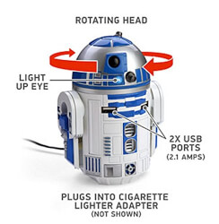 Star Wars USB Car Charger