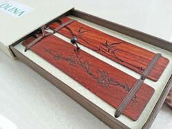 Handmade Wood Bookmarks