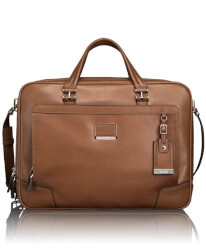 Tumi Leather Brief