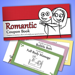 The Romantic Coupon Book - Novelty..