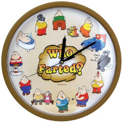 Who Farted Clock