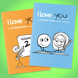 I Love You: Activity Books For..