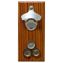 Magnetic Bottle Opener (Hardwood)