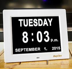 Minimalist Clock & Calendar