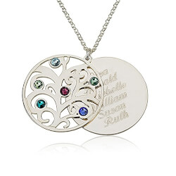 Personalized Birthstones Family..