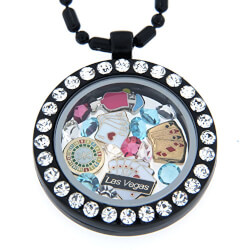 Themed Floating Charm Necklace