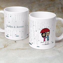 Its Raining Love  - Personalized..