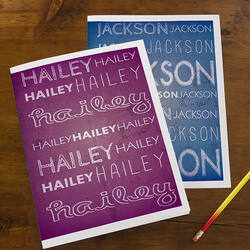Personalized School Folders For..