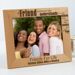 Personalized Friends Forever..
