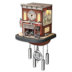 Freedom Choppers Wall Clock With..