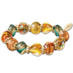 Artisan Glass Bracelet Inspired By..