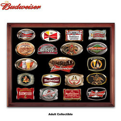 Budweiser Belt Buckle Collection..