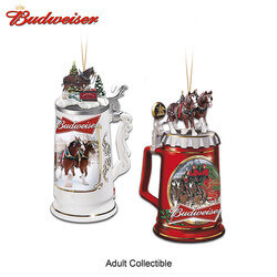 Budweiser Beer Stein Ornaments..