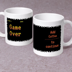 Game Over - Personalized 11 Oz...