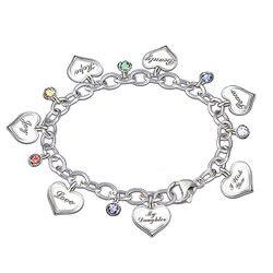 Heartfelt Wishes Charm Bracelet..