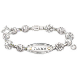 Personalized ID-Style Bracelet For..