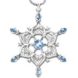 Thomas Kinkade Sparkling Snowflake..