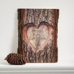 Personalized Romantic Wall Plaque..